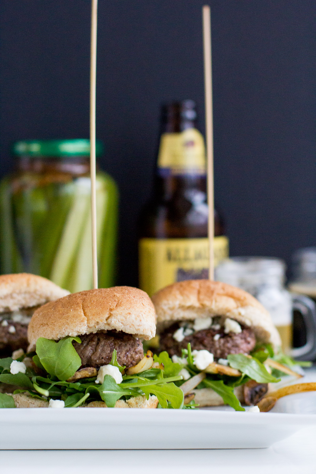 beer tasting party, slider recipe, homemade dill pickles, steak fries, cooking, food and drink, wandeleur