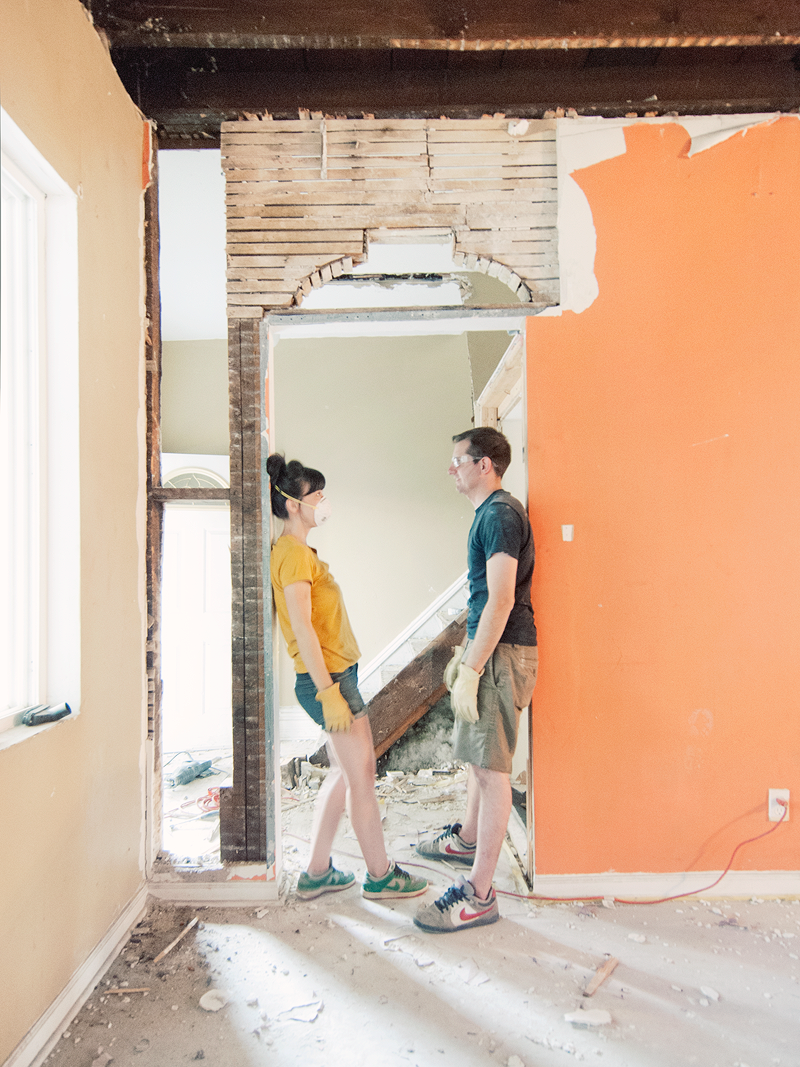 Living through a home renovation wandeleur for How to renovate your home