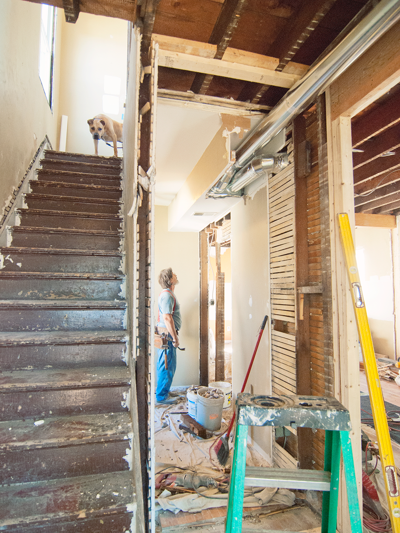 living through a renovation, why to renovate, renovating an old home, renovating in chicago, fixer upper, wandeleur