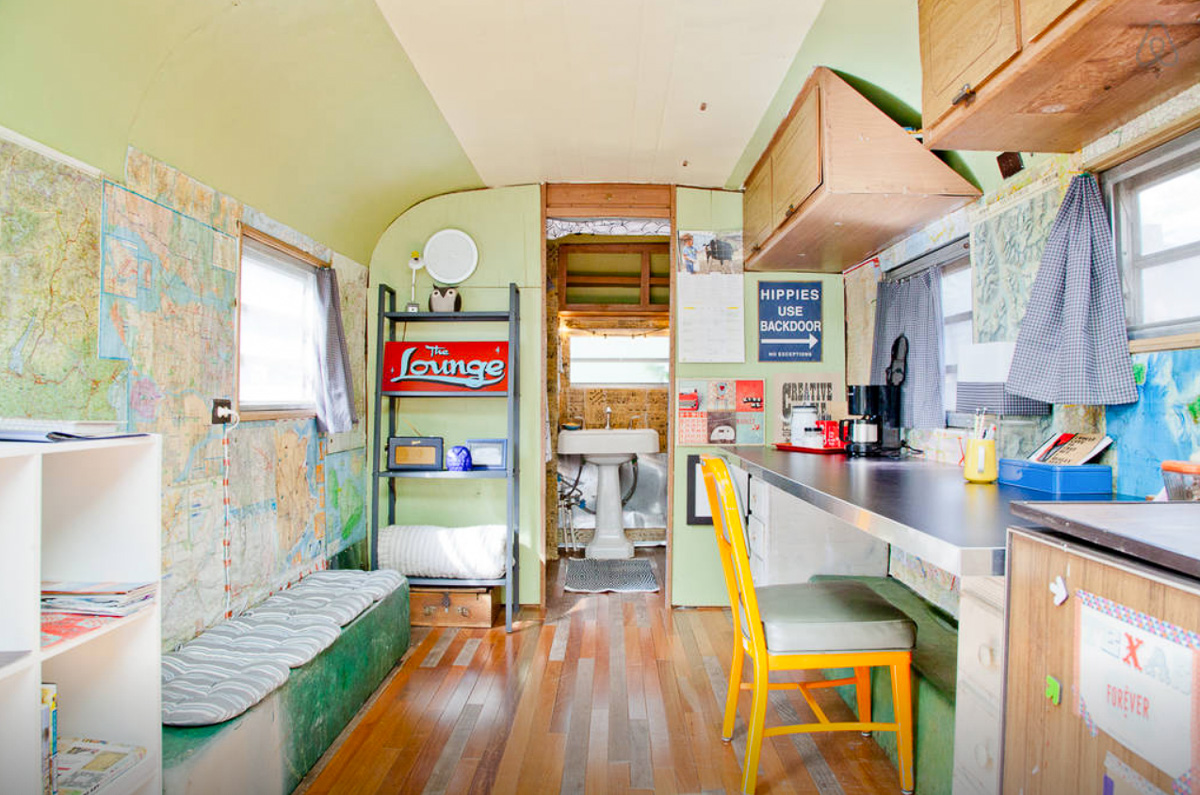 Airstream tour of Austin Texas