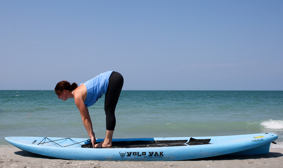 How to practice yoga, how to do a sun salutation