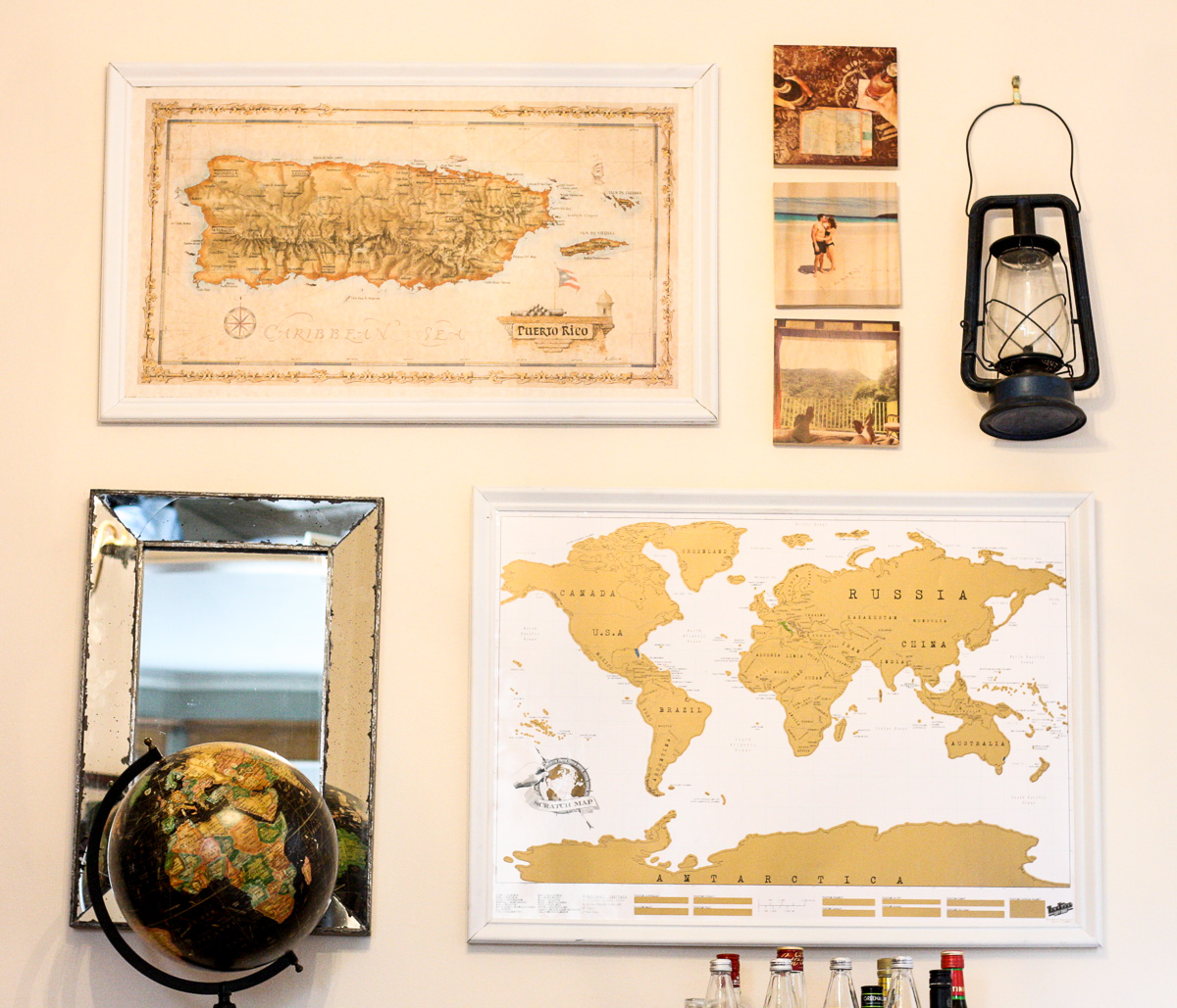 DIY Picture Frames_How to make your own picture frame_How to frame your own map-1