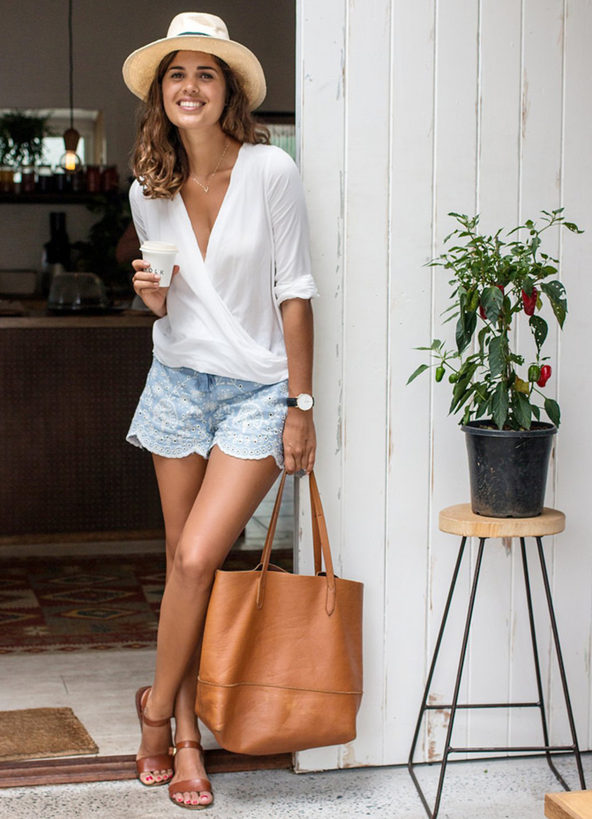 Ways to wear white for summer