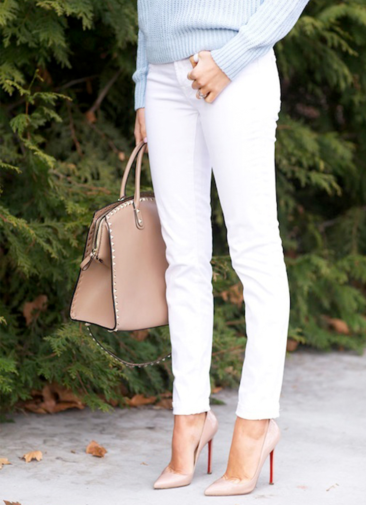 Ways to wear white_White jeans in summer_Best ways to wear white