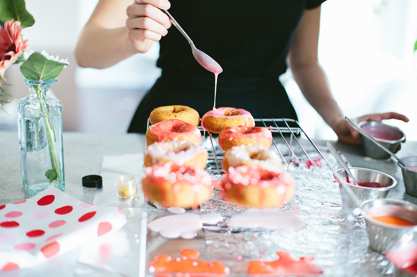 Donuts from Dulcet Creative —@Wandeleur