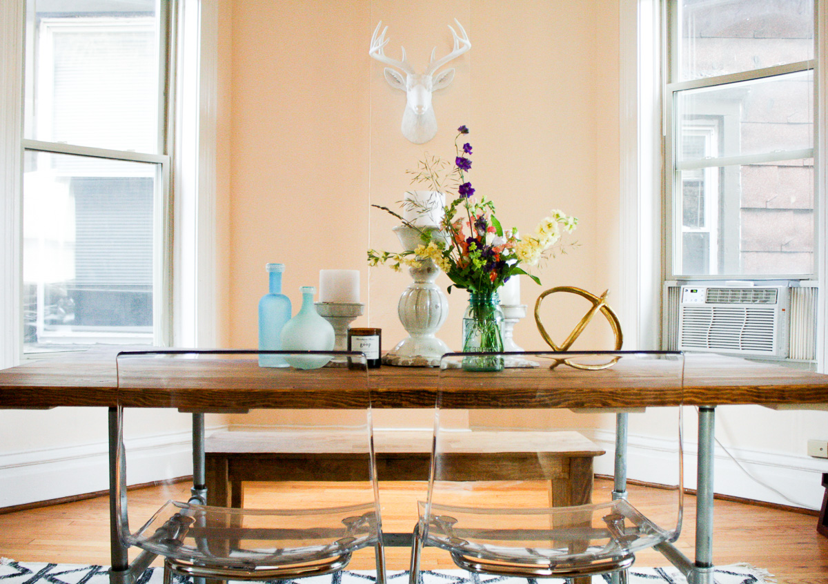 how to make your own diy dining room table