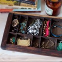 vintage tray jewelry holder