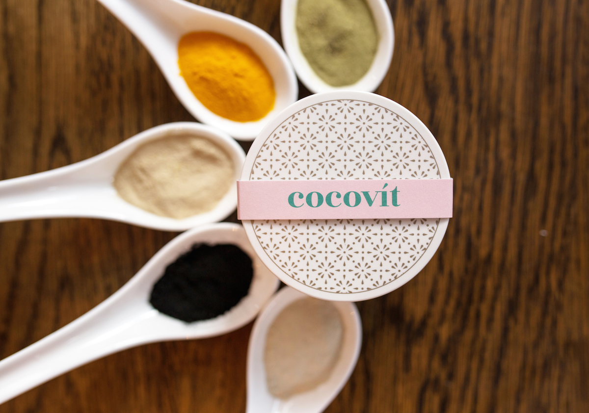 Cocovit Coconut Charcoal Face Mask _1