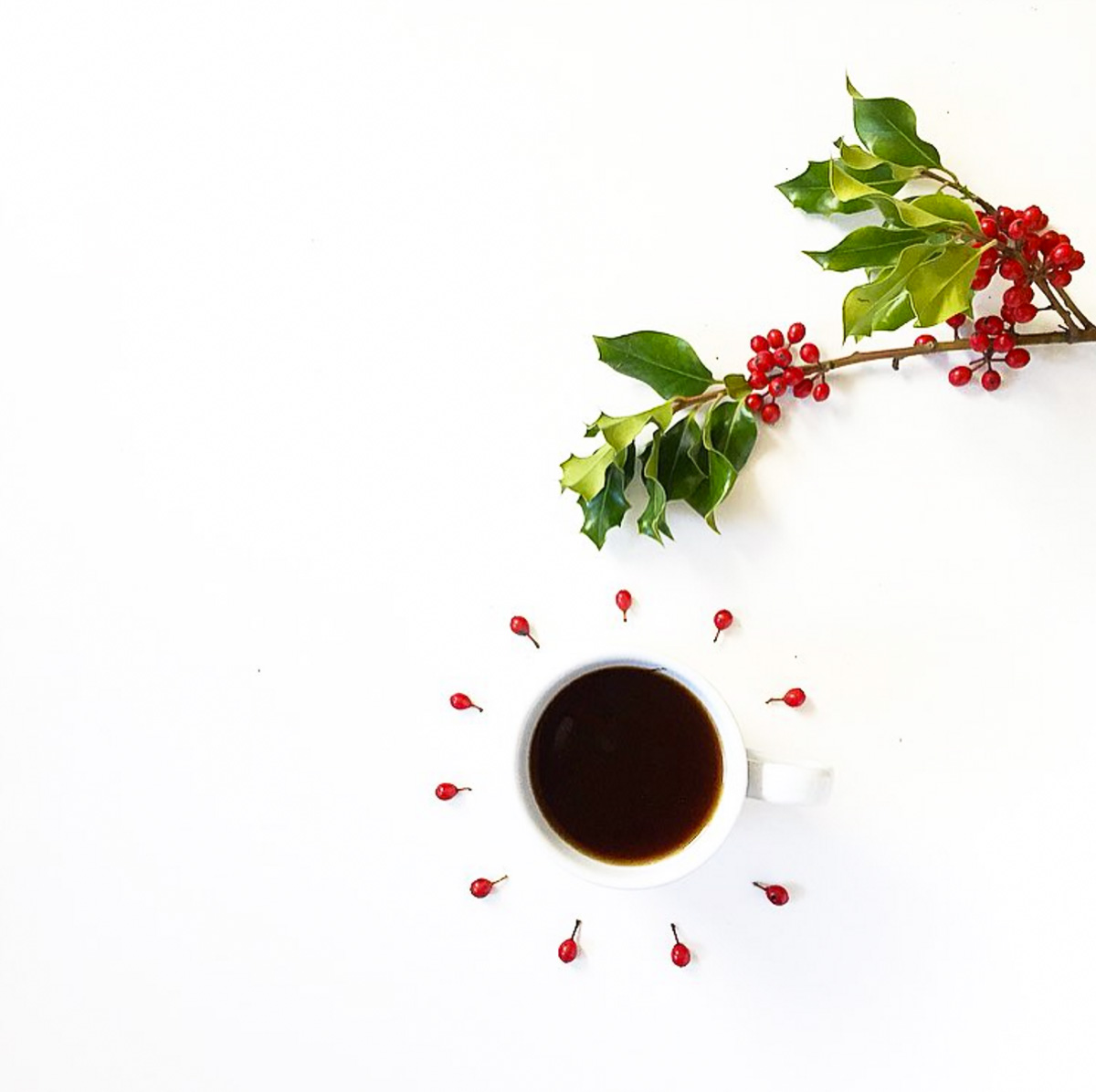 Coffee and berries-1