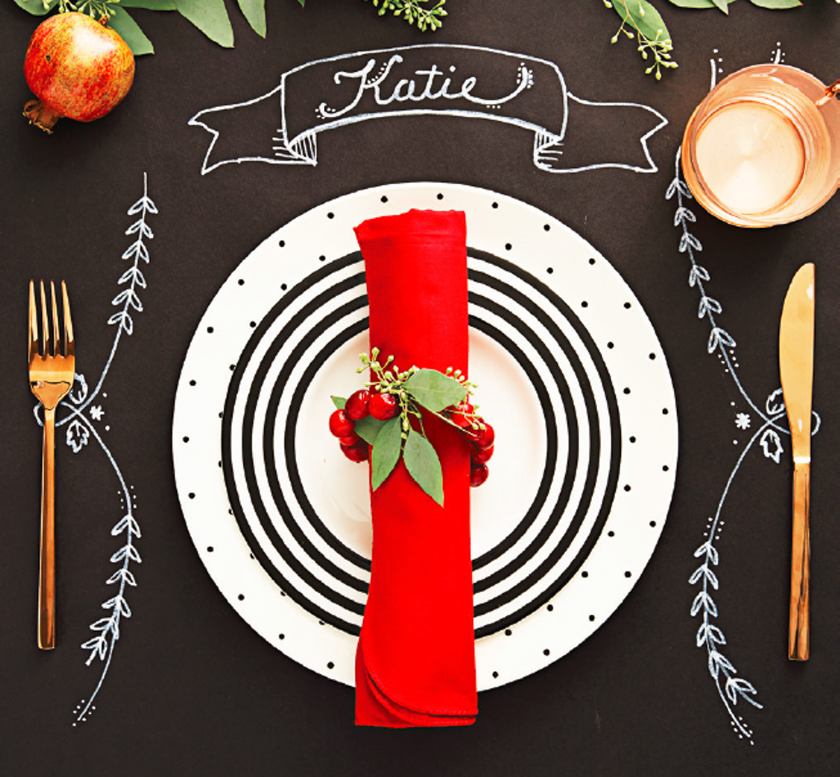 Transform your tablescape with these 20 festive settings for Creative ways to make a table