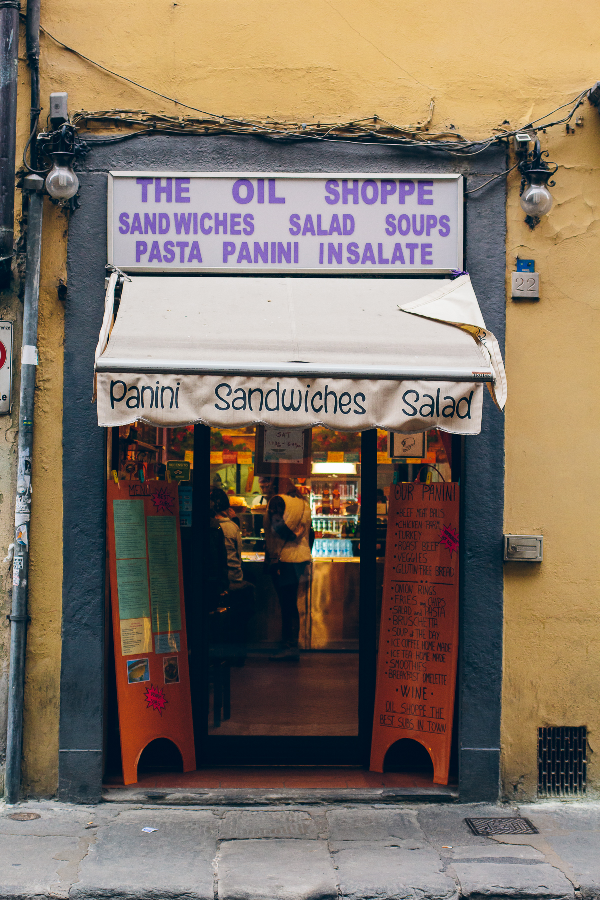 The Oil Shoppe in Florence Italy — via @Wandeleur